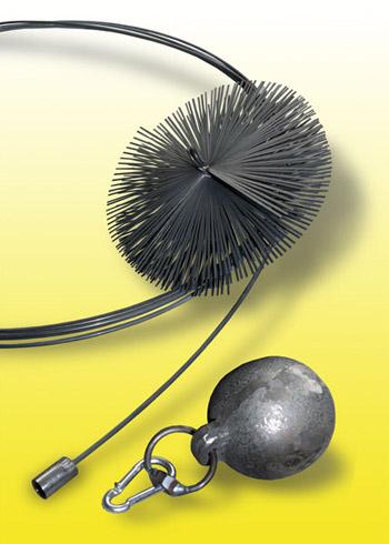 Schornsteinbesen-Rauchrohrbesen-Set-Federstahl-Auswahl
